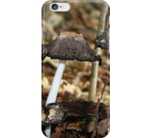 Shaggy Ink Cap iPhone Case/Skin