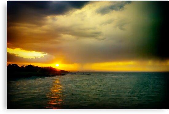 Dromana sunset by Melinda Kerr