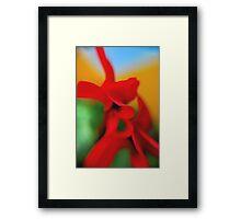 Flower Abstract.. Framed Print