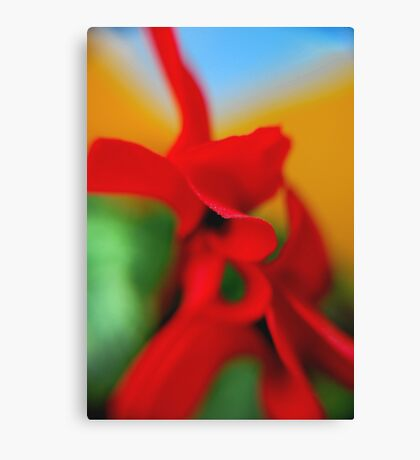 Flower Abstract.. Canvas Print