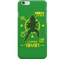 DBZ - Saiyan Power Over 18000 iPhone Case/Skin