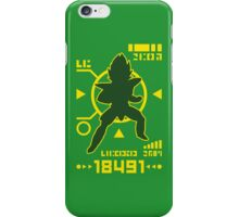 DBZ - Saiyan Power Over 18000 iPhone Case/Skin