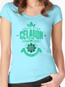 Celadon Gym Women's Fitted Scoop T-Shirt