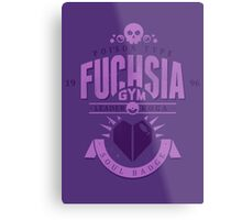 Fuchsia Gym Metal Print
