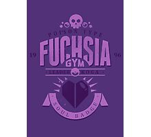 Fuchsia Gym Photographic Print
