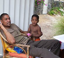 Typical Mauritius people by justinse