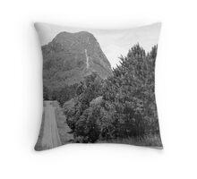 glass house mountains Throw Pillow