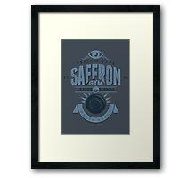 Saffron Gym Framed Print