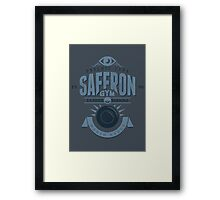 Saffron Gym Framed Print