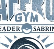 Saffron Gym Sticker