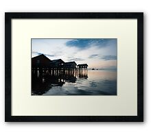 View of Koh Panyee and Phang Nga Bay at dawn Framed Print