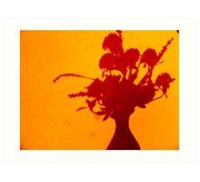 Vase Of Shadows Art Print