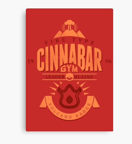 Cinnabar Gym Canvas Print