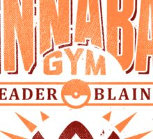 Cinnabar Gym Sticker