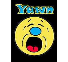 Iskybibblle Products Yawn Photographic Print