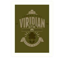 Viridian Gym Art Print