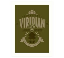 Viridian Gym Art Print