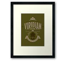 Viridian Gym Framed Print