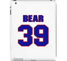 National football player Pooh Bear jersey 39 iPad Case/Skin