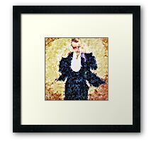 Let it go dancing Framed Print
