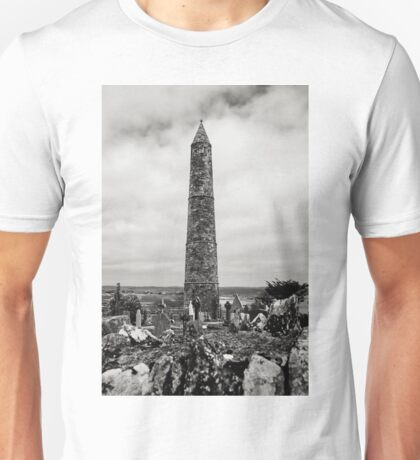 Ardmore Round Tower, County Waterford, Ireland Unisex T-Shirt