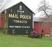 Mail Pouch Barn by Tena B.
