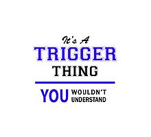 It's a TRIGGER thing, you wouldn't understand !! by allnames