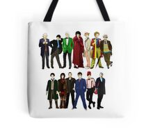 Doctor Who - The 13 Doctors Tote Bag