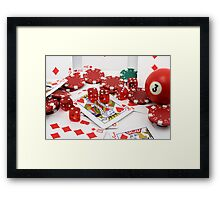 Love with a touch of envy Framed Print