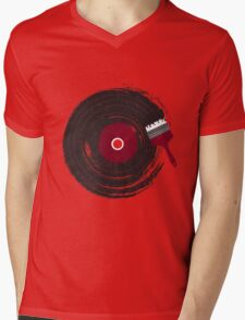 Art of Music Mens V-Neck T-Shirt