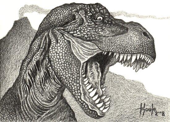 Cretaceous Tyrant - Tyrannosaurus Rex by John Houle
