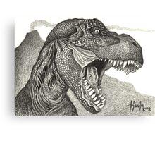 Cretaceous Tyrant - Tyrannosaurus Rex Canvas Print