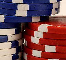 Poker Chips by Adam Petty