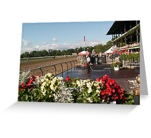 Saratoga Winners Circle (zoomed out) Greeting Card