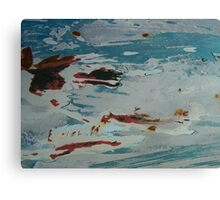 Red, White and Blue... and Black Too! Canvas Print