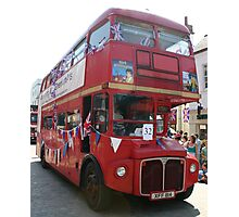The lesser spotted routemaster London bus Photographic Print