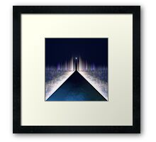 Silent night in Abstract Universe Framed Print