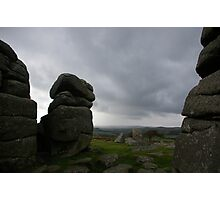 Dartmoors' true face Photographic Print