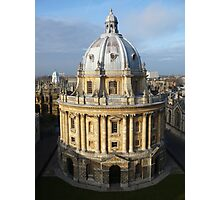 The Bodleian library Photographic Print