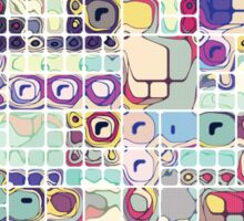 Colorful Shapes And Stuff Sticker