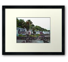 Scottish Palm Trees Framed Print