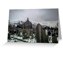 Christmas in Port Talbot - Holy Cross Church Greeting Card