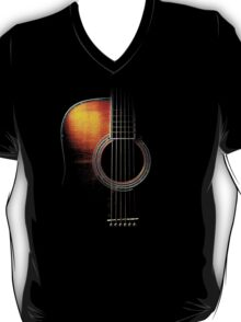 Colour Acoustic Guitar Hi-Lite T-Shirt
