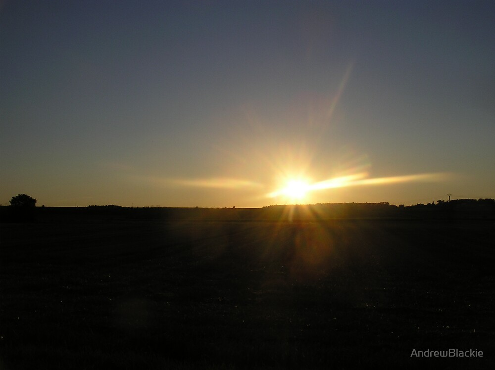 Dark Sky Sunset by AndrewBlackie