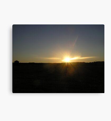 Dark Sky Sunset Canvas Print