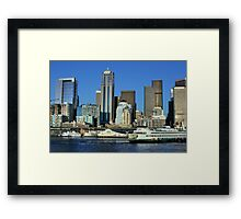 Seattle Washington Framed Print