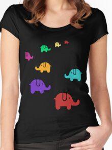 Elefantes Women's Fitted Scoop T-Shirt