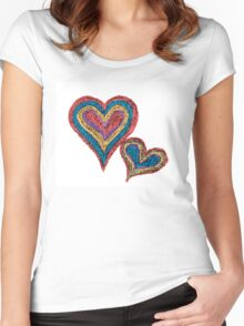 Conceptual image of love Women's Fitted Scoop T-Shirt