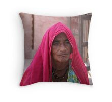 the beauty of ageing Throw Pillow