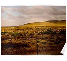 Western plains Poster